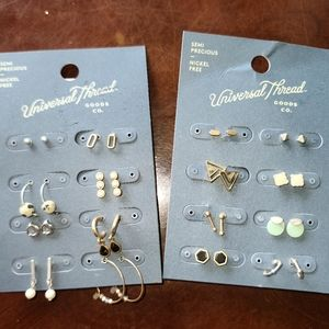 Universal Threads earrings 2pk 16pair